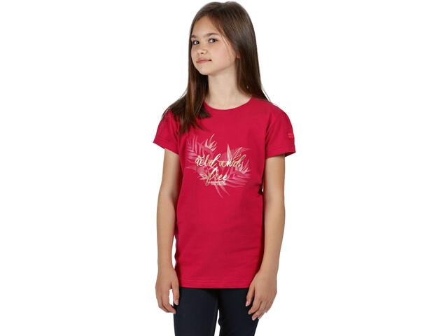 Regatta Bosley III Camiseta Niños, duchess